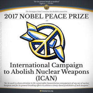 Premio Nobel per la Pace 2017